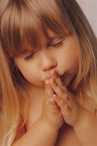 Child Praying - Gratitude