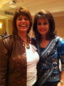 Sandra Yancey and Barb Stuhlemmer